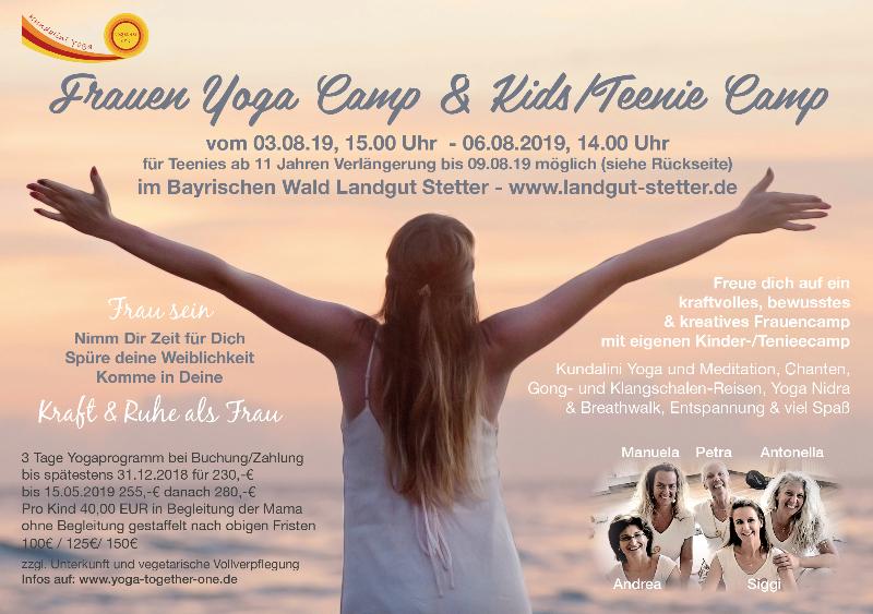 Frauen Yoga Camp & Kids/Teenie Camp
