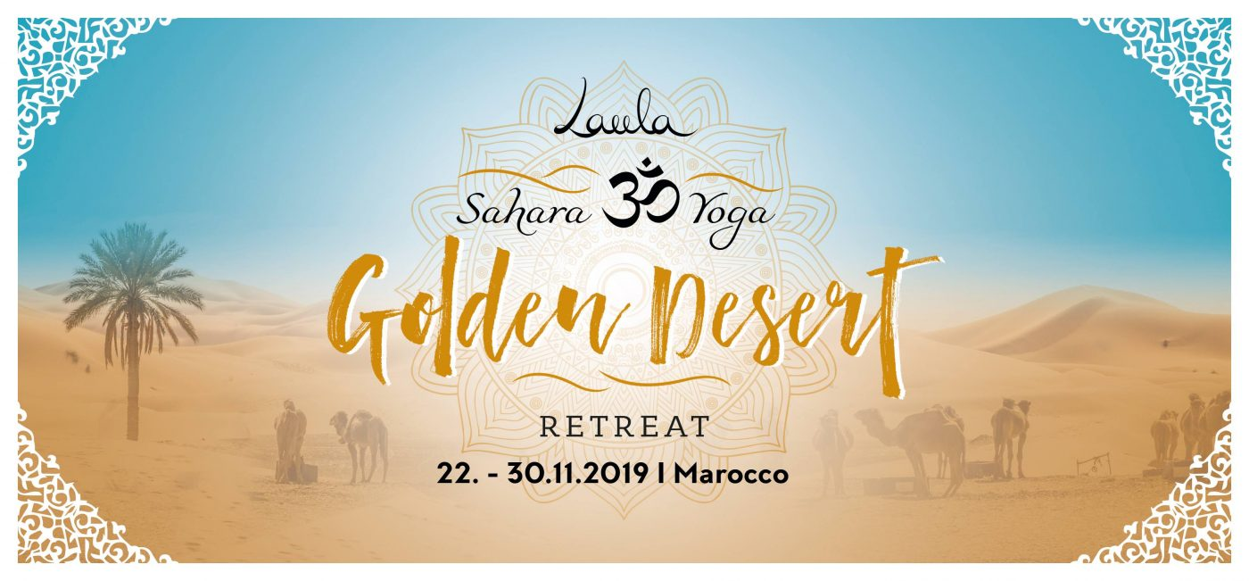 GOLDEN DESERT – YOGARETREAT in die Wüste Marokkos